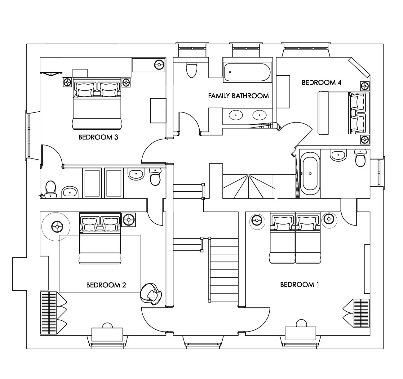 Manor Farmhouse - First Floor